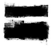 横幅grunge集 免版税库存图片