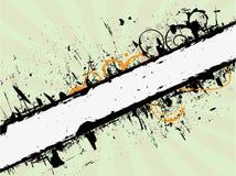 横幅grunge 免版税库存图片