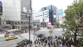 横渡东京的涩谷 影视素材