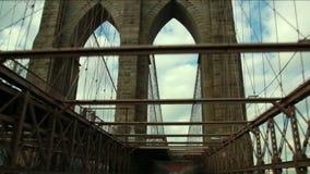 横渡布鲁克林大桥 股票录像