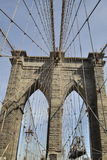 横渡布鲁克林大桥 库存照片