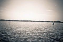 横渡水01 免版税图库摄影