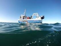 横渡的英吉利海峡照片 免版税库存图片