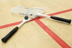 横渡的软式墙网球 免版税库存照片