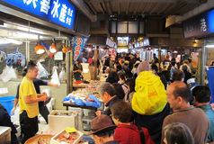 横滨鱼市日本 图库摄影