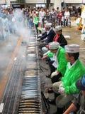 横滨鱼市日本 库存照片