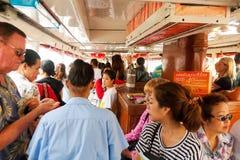 横穿昭披耶河,曼谷 免版税库存照片