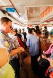 横穿昭披耶河,曼谷 图库摄影