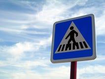 横穿步行者 免版税库存图片