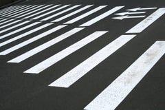 横穿步行者 免版税库存照片