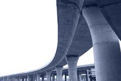 横穿高速公路 库存图片