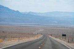 横穿死亡谷 库存照片