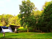 横跨南部的风景 免版税图库摄影