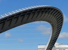 横跨泰恩河的千年桥梁 库存图片