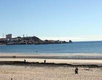 横跨科尔特斯海的Puerto Penasco  免版税库存图片
