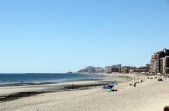 横跨科尔特斯海的Puerto Penasco  免版税库存照片