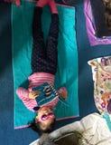 横跨美国博士读的庆祝 Seuss的生日 免版税库存照片