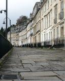 横跨英王乔治一世至三世时期大阳台议院的看法 库存照片