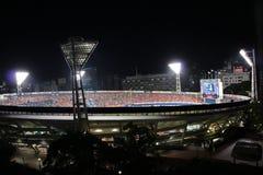横滨体育场 库存图片