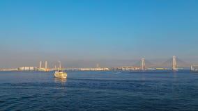 横滨口岸在日本 免版税库存照片