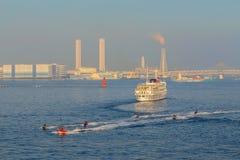 横滨口岸在日本 免版税图库摄影