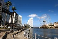 横滨商务口岸 免版税图库摄影