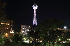 横滨海洋塔在神奈川,日本 图库摄影