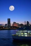 横滨,日本都市风景 免版税库存照片