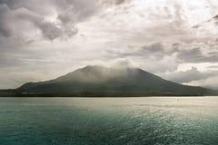 樱岛火山 免版税库存照片