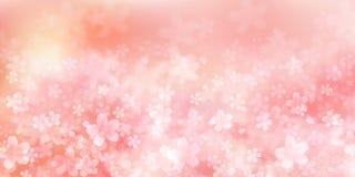 樱桃例证材料印象的日本春天 向量例证