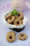 樱桃曲奇饼03 库存图片