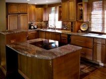 樱桃水平的厨房 库存照片