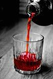 樱桃汁 库存照片
