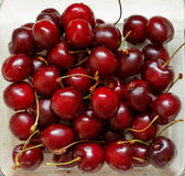 樱桃莓果 免版税库存照片