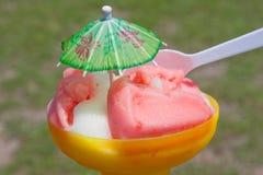 樱桃饼甜点 图库摄影