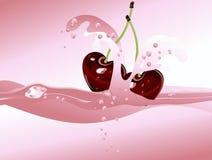 樱桃coctail 库存照片