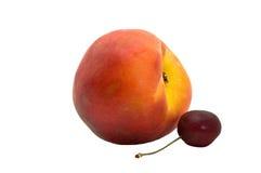 樱桃peache 免版税库存照片