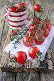 樱桃tomamtoes 库存照片
