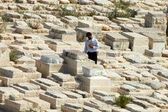 橄榄山在耶路撒冷以色列 免版税库存图片
