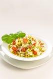 橄榄沙拉 免版税库存图片