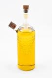 橄榄油瓶 免版税图库摄影