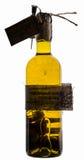 橄榄油瓶 库存照片