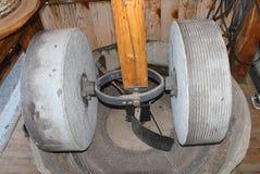 橄榄油的石磨房 库存照片
