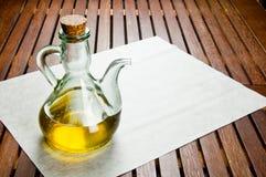 橄榄油 库存图片