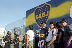 橄榄球也是战争在阿根廷 库存图片