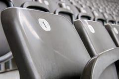 橄榄球位子 免版税图库摄影
