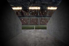 橄榄球体育场 库存图片