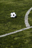 橄榄球例证间距足球 免版税库存照片