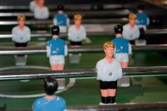 橄榄球台式游戏机 库存照片