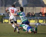 橄榄球吉尼斯赞成12,贝纳通对阿尔斯特- LUDIK 免版税图库摄影